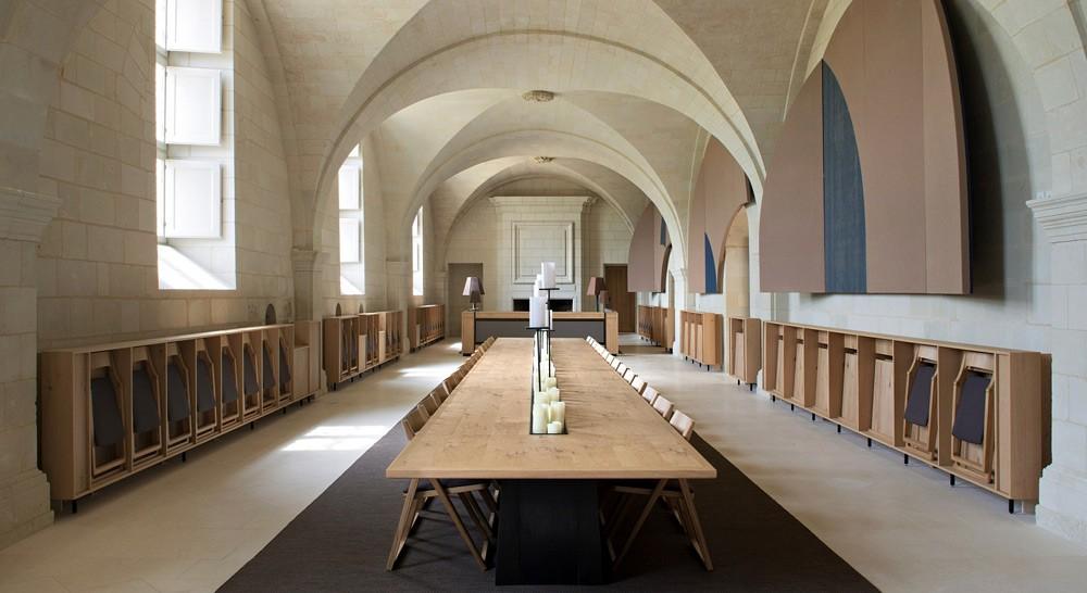H tel de l abbaye fontevraud rabier fluides concept - Hotel abbaye de fontevraud ...